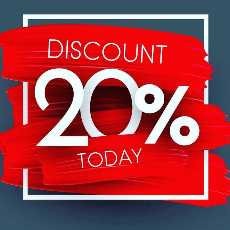 Get 20% Discount